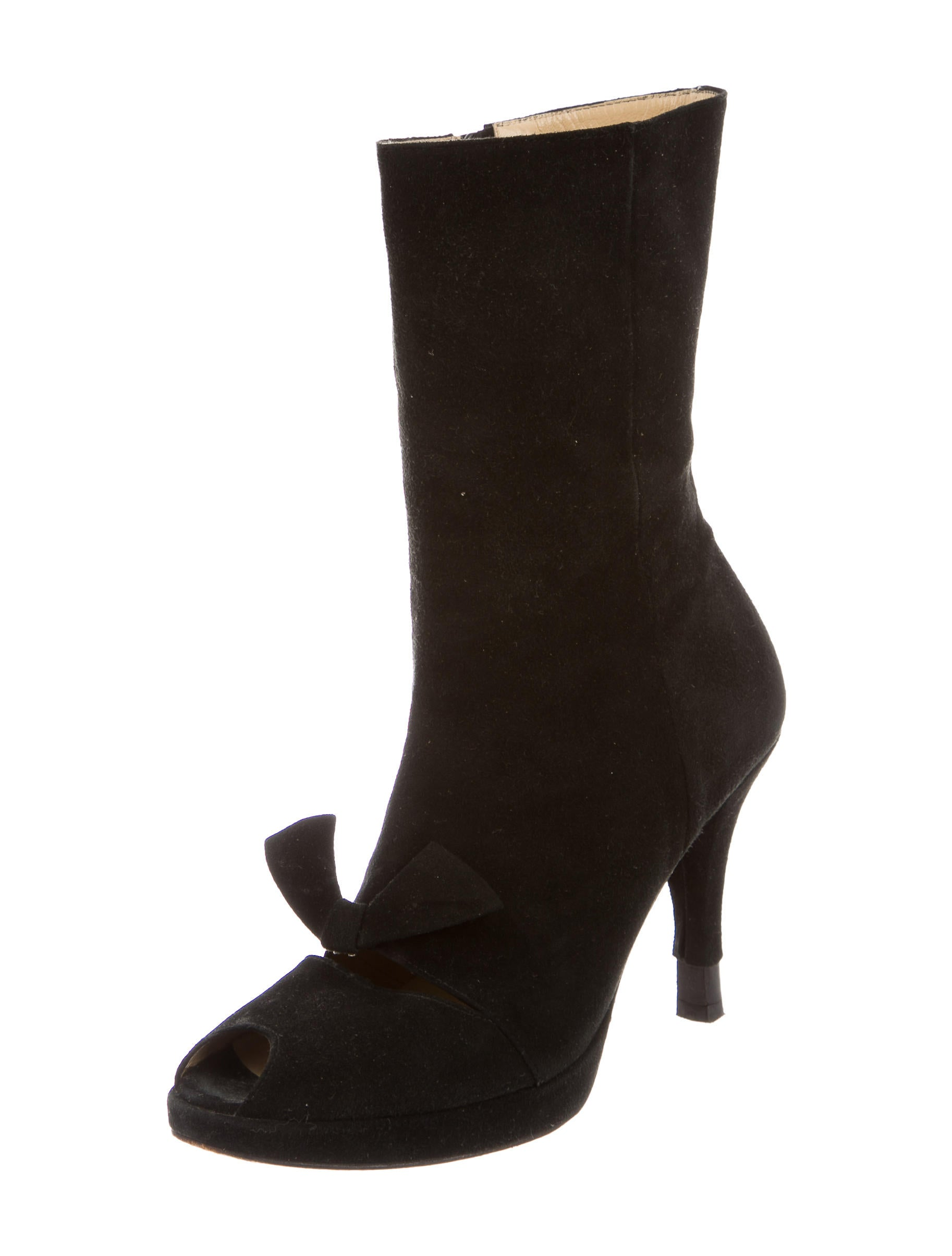 opening ceremony suede mid calf boots shoes woc23859