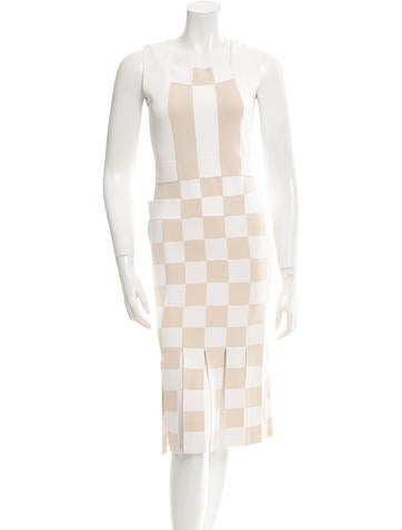 Opening Ceremony Patterned Sleeveless Dress w/ Tags None