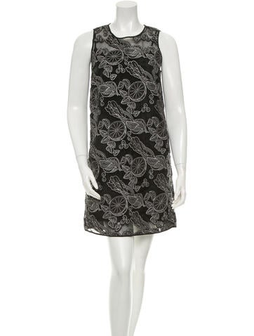 Opening Ceremony Embroidered Shift Dress w/ Tags None