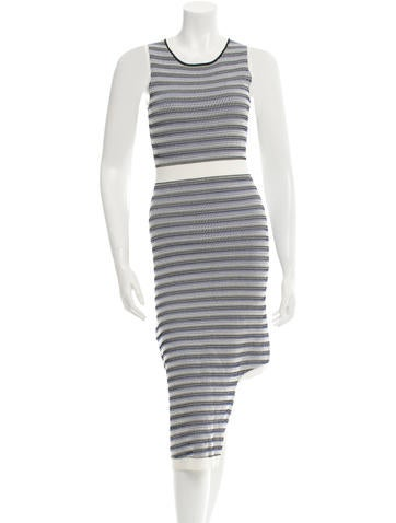 Opening Ceremony Patterned Cutout Dress w/ Tags None