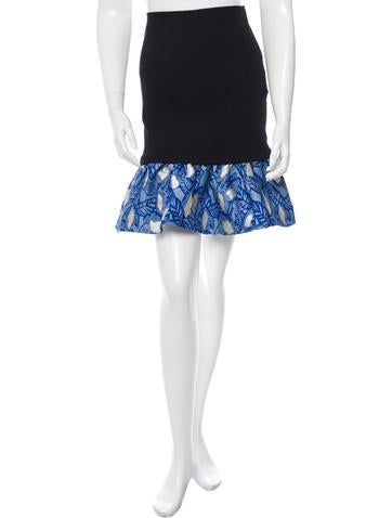 Opening Ceremony Flared Bodycon Skirt w/ Tags None