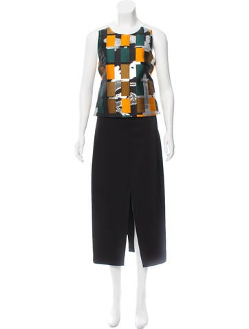 Opening Ceremony Colorblock Maxi Dress w/ Tags