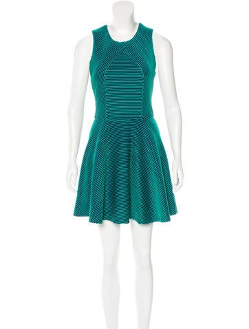 Opening Ceremony Ribbed A-Line Dress None