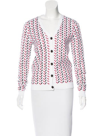 Opening Ceremony Patterned Knit Cardigan None