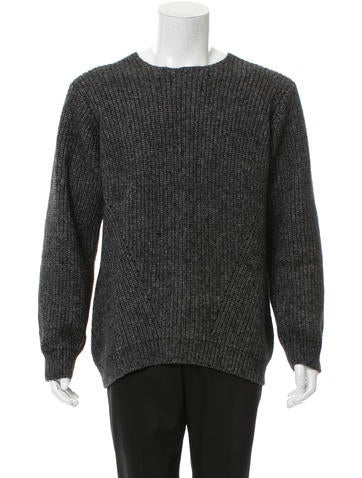 Opening Ceremony Pullover Rib Knit Sweater None