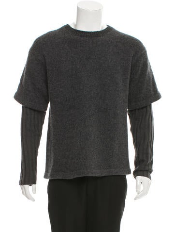 Opening Ceremony Wool-Blend Crew Neck Sweater None