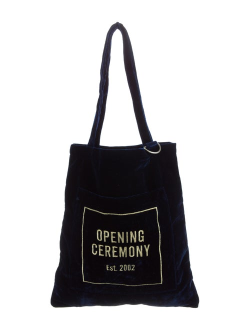 373fe87690 Opening Ceremony Velour Eco Bag w/ Tags - Handbags - WOC24755   The ...