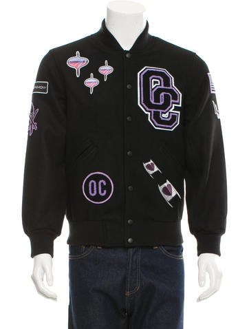 Opening Ceremony Logo Patch Varsity Jacket w/ Tags None
