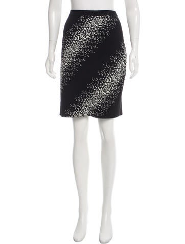 Opening Ceremony Jacquard Bodycon Skirt None