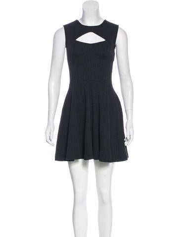 Opening Ceremony Textured Cutout Dress w/ Tags None