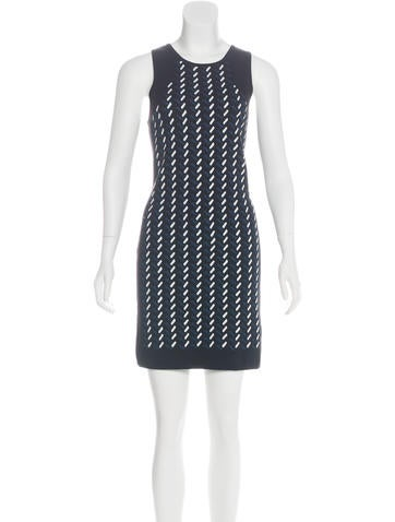 Opening Ceremony Printed Sleeveless Dress w/ Tags None