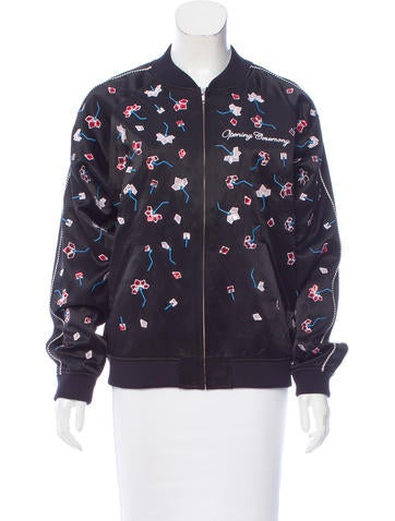 Opening Ceremony Silk Bomber Jacket w/ Tags None