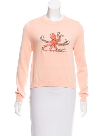 Opening Ceremony Embroidered Sweater None