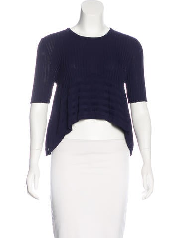Opening Ceremony High-Low Knit Top None