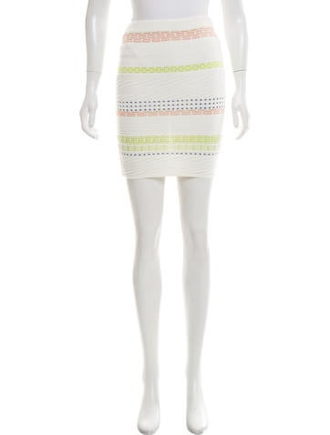 Opening Ceremony Rib Knit Mini Skirt w/ Tags None