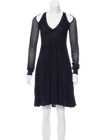 Opening Ceremony Knit Flounce Dress None