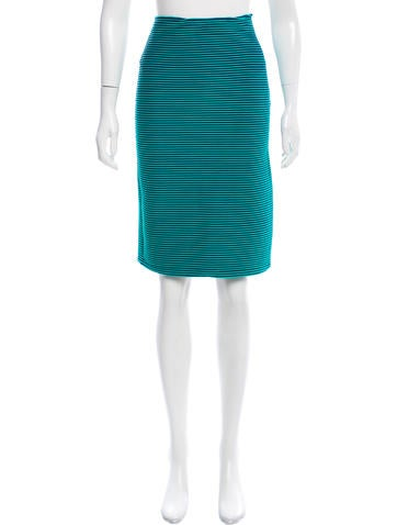 Opening Ceremony Rib Knit Knee-length Skirt w/ Tags None