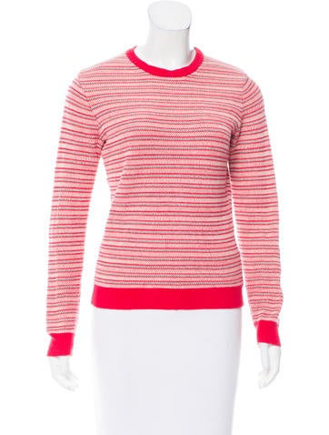 Opening Ceremony Intarsia Knit Long Sleeve Sweater None