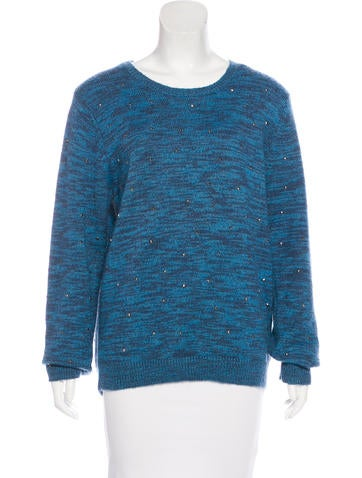 Opening Ceremony Mohair & Wool-Blend Embellished Sweater w/ Tags None