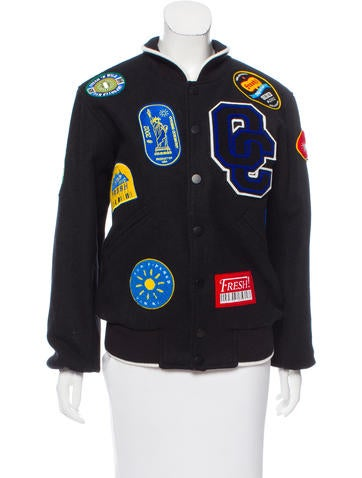 Opening Ceremony Wool Bomber Jacket None