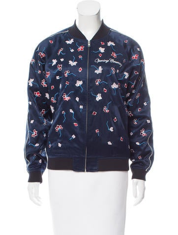 Opening Ceremony 2017 Embroidered Jacket None