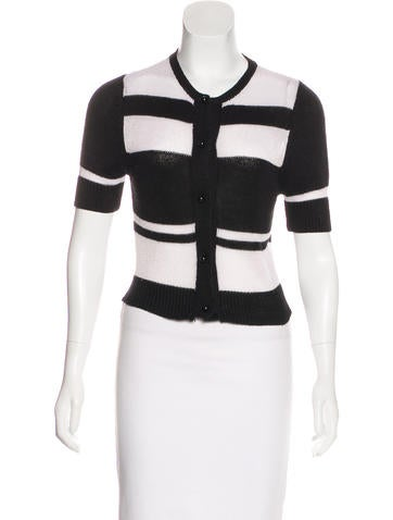 Opening Ceremony Striped Knit Cardigan None