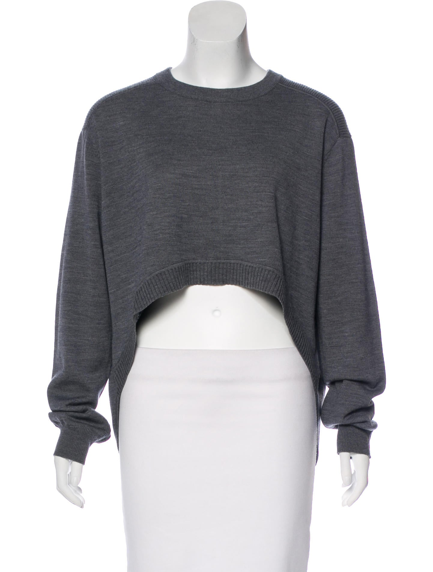 Opening Ceremony Wool Cropped Sweater w/ Tags - Clothing ...