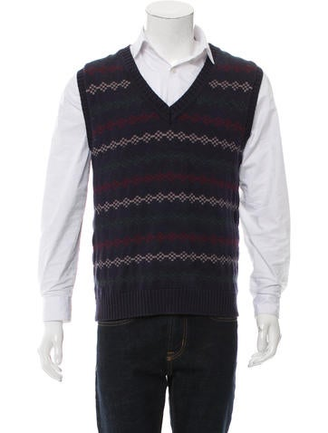 Opening Ceremony Abstract Sweater Vest None