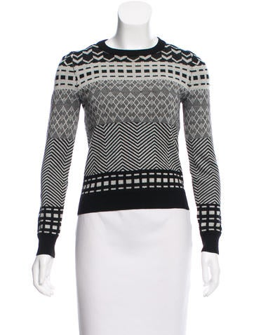 Opening Ceremony Wool Patterned Sweater None