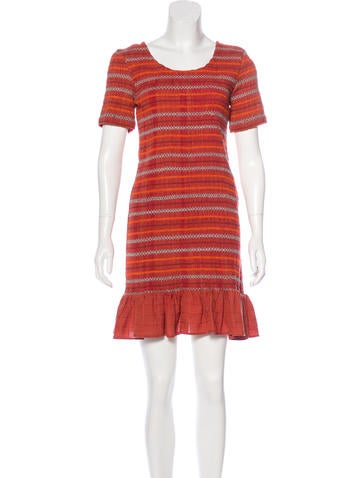 Opening Ceremony Smocked Mini Dress w/ Tags None