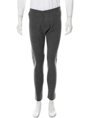 Opening Ceremony Rib Knit Wool Pants None