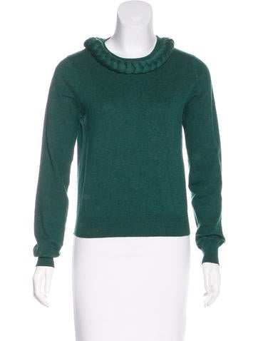 Opening Ceremony Embellished Knit Sweater None