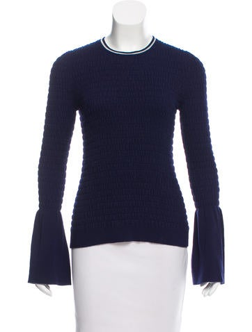 Opening Ceremony Smocked Bell Sleeve Sweater w/ Tags None
