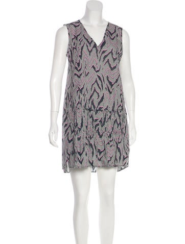 Opening Ceremony Gingham Abstract Print Dress w/ Tags None