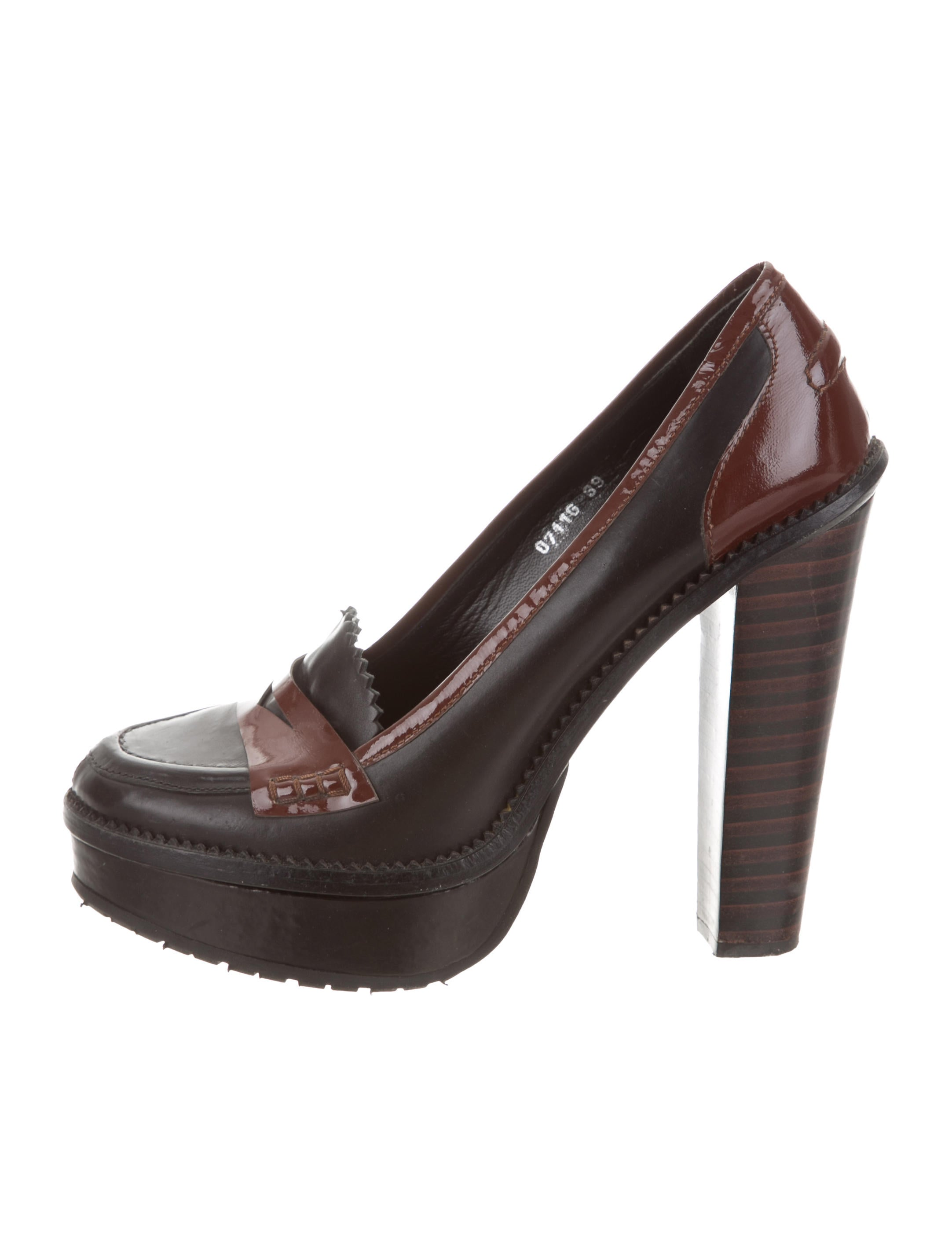 Opening Ceremony Leather Platform Pumps sale 2014 unisex buy cheap how much best cheap online discount outlet clearance sast lSUsEs0wwl