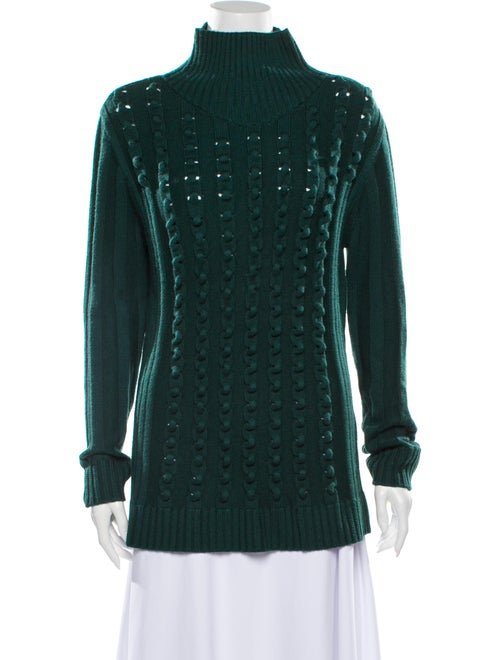 Opening Ceremony Turtleneck Sweater Green