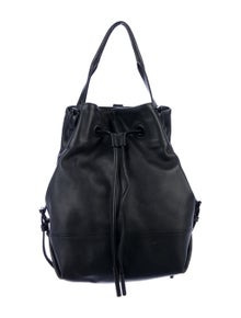Opening Ceremony Leather Backpack