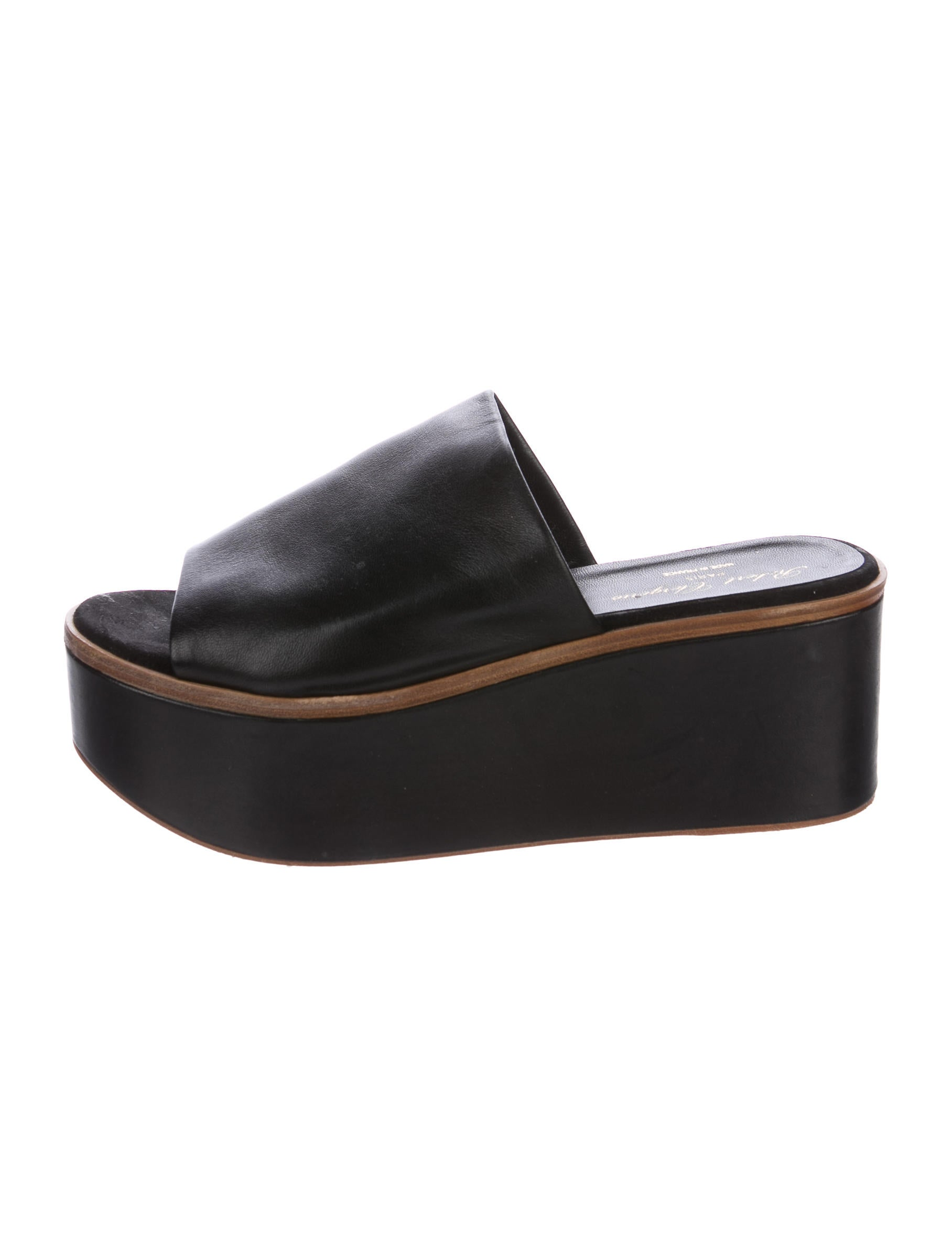 latest collections cheap online Robert Clergerie x Opening Ceremony Platform Slide Sandals quality free shipping low price sale recommend 0FrEoD