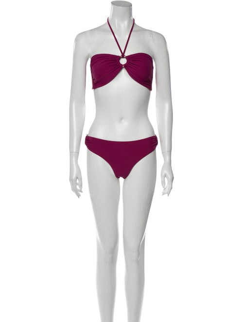 Melissa Odabash Bikini w/ Tags Purple
