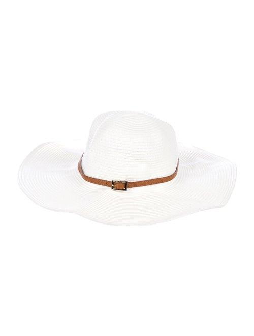 Melissa Odabash Straw Sun Hat White