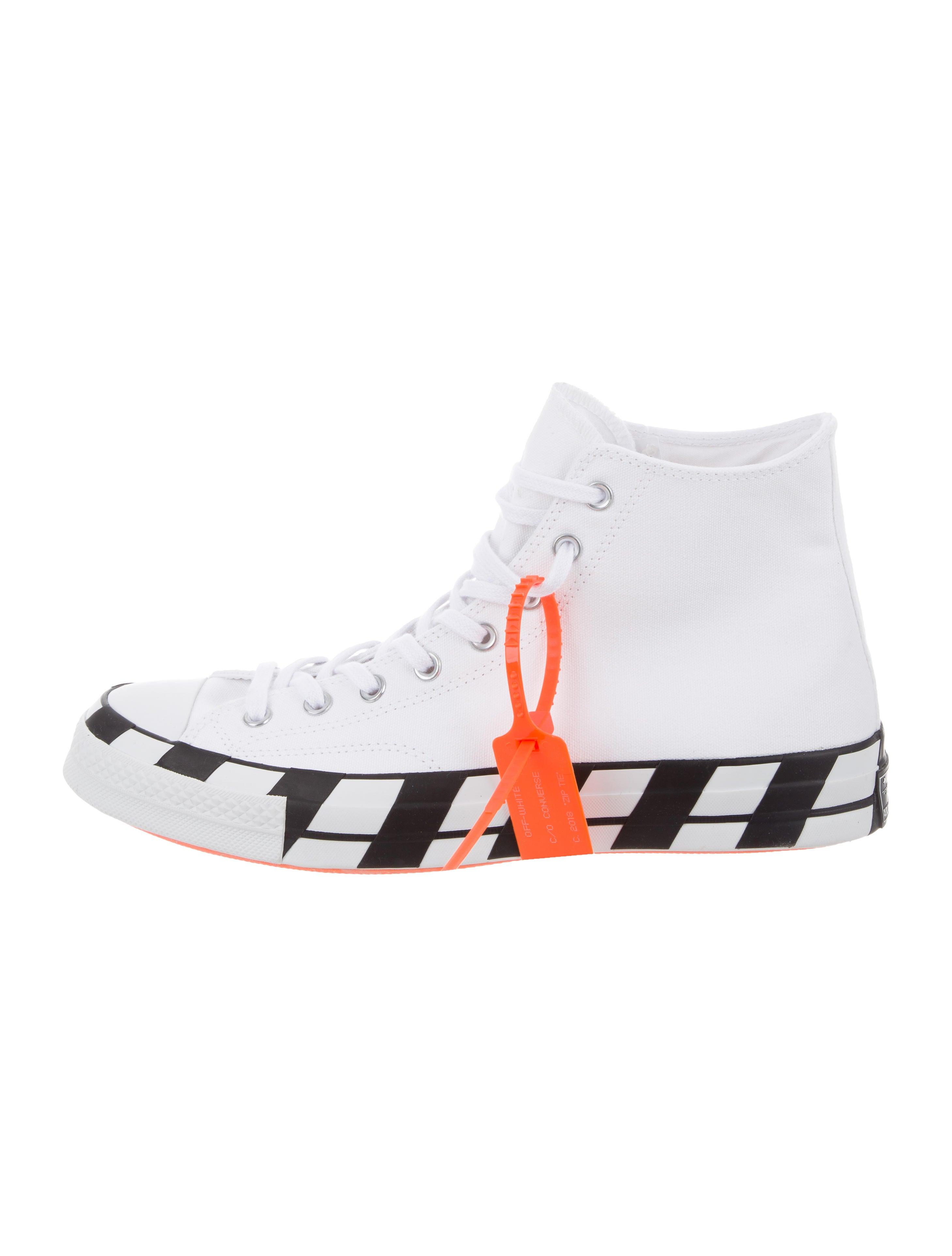 8b9ab5f3adf4 Off-White x Converse Chuck Taylor All Star 70 Hi Sneakers w  Tags ...