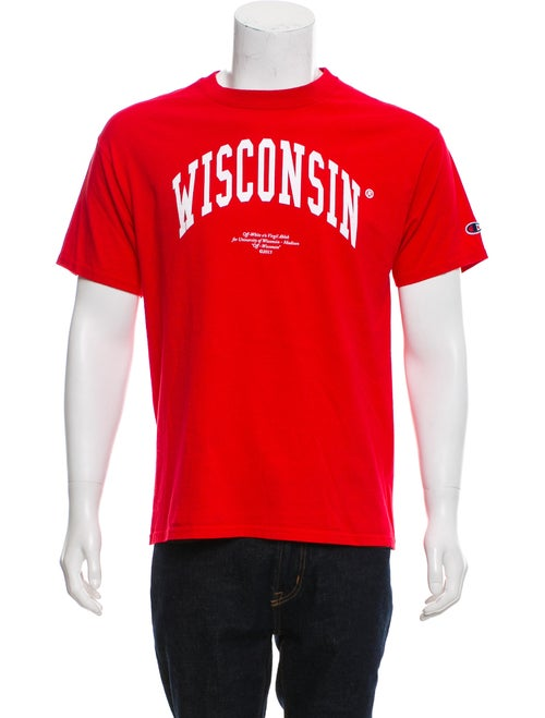 88194ad7 Off-White x Champion Wisconsin T-shirt - Clothing - WOFFM20003 | The ...