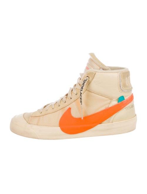 Off-White x Nike Blazer Mid All Hallow's Eve Sneak