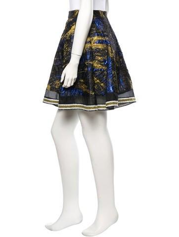 Jacquard Skirt w/ Tags