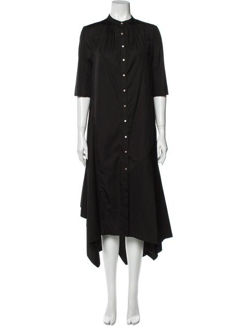 Occhii Midi Length Dress Black