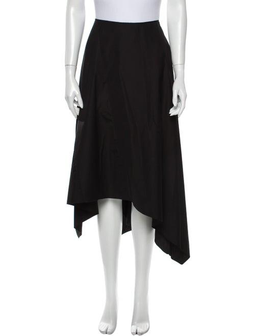 Occhii Midi Length Skirt Black
