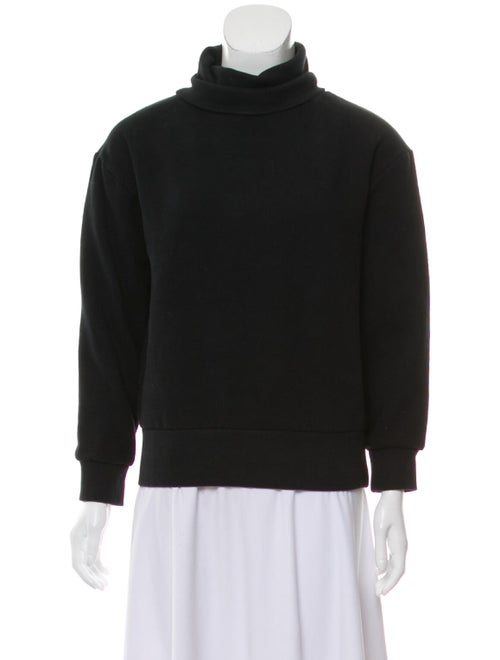 OAK Turtleneck Long Sleeve Sweatshirt Black