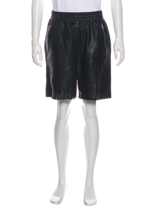 OAK Leather Shorts Black