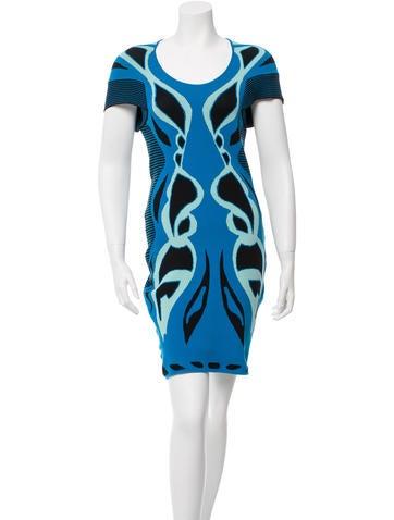 Ohne Titel Patterned Mini Dress None