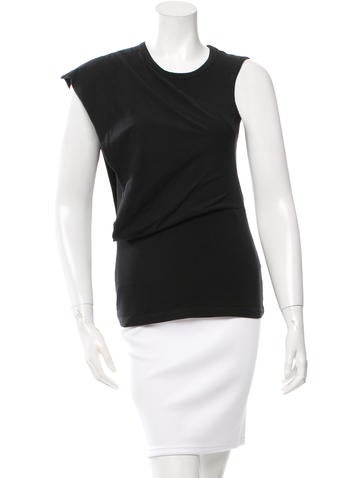 Ohne Titel Asymmetrical Sleeveless Top None